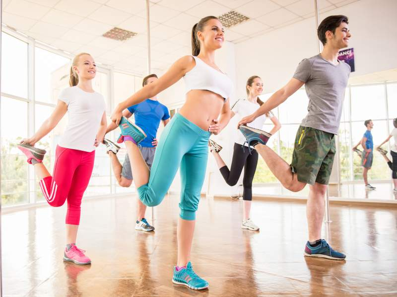 aerobics classes in Delhi